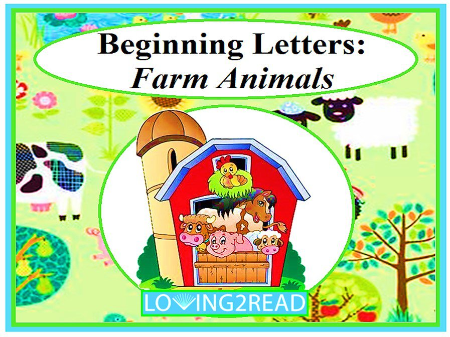 Beginning Letters: Farm Animals