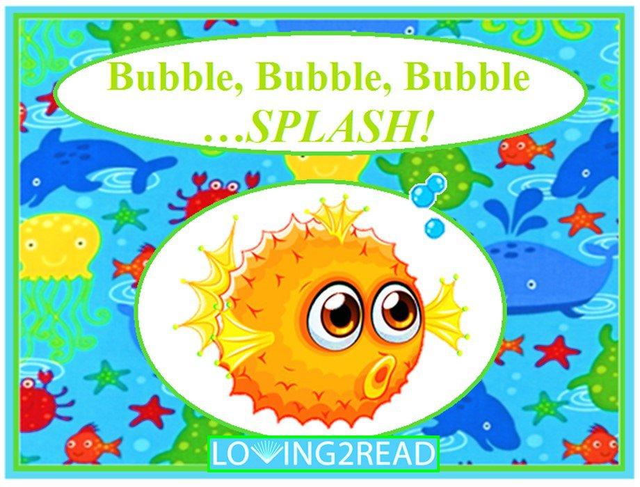 Bubble, Bubble, Bubble...SPLASH!