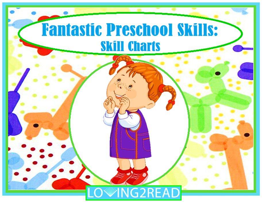 Fantastic Preschool Skills: Skill Charts