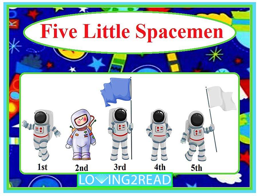 Five Little Spacemen