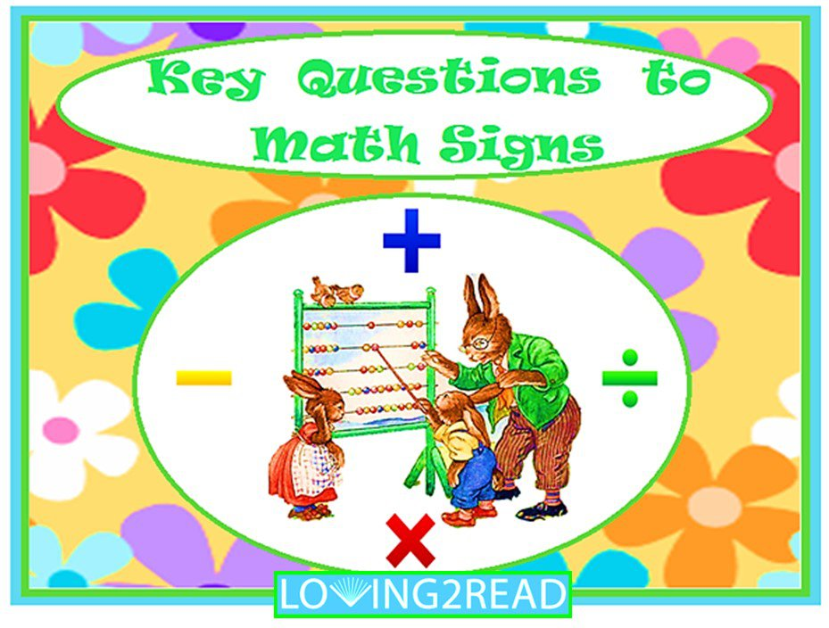 Key Questions to Math Signs