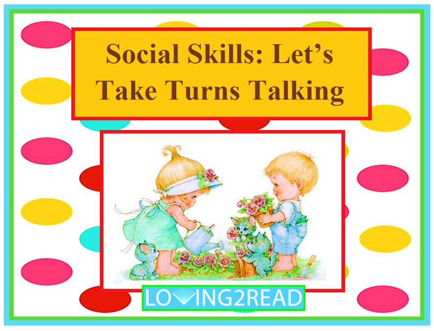 Social Skills: Let's Take Turns Talking