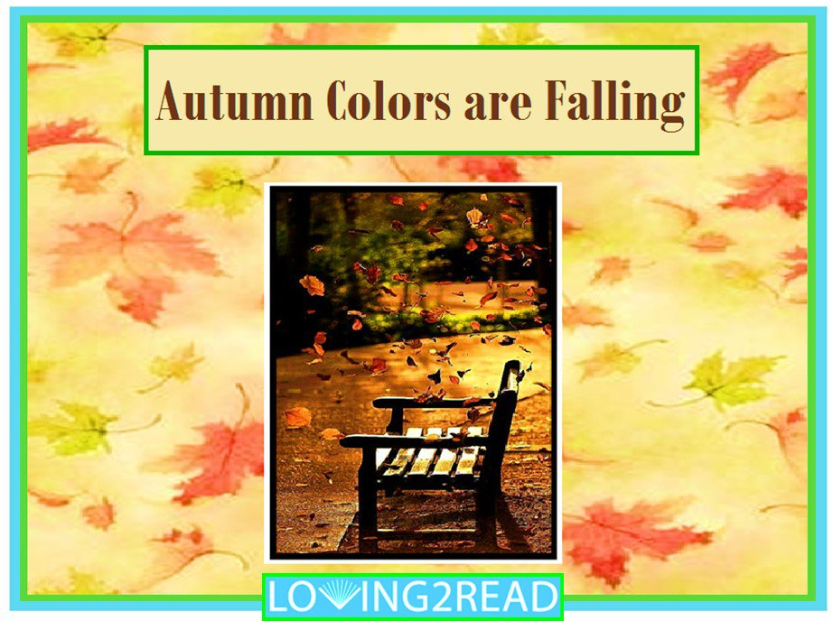 Autumn Colors are Falling