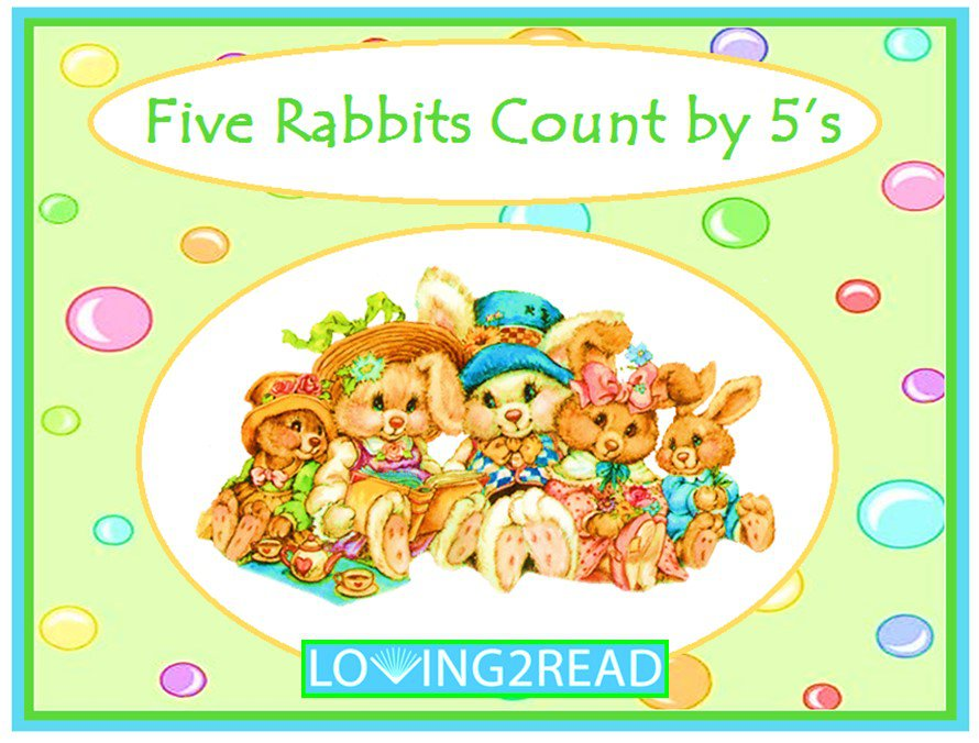 Five Rabbits Count by 5's
