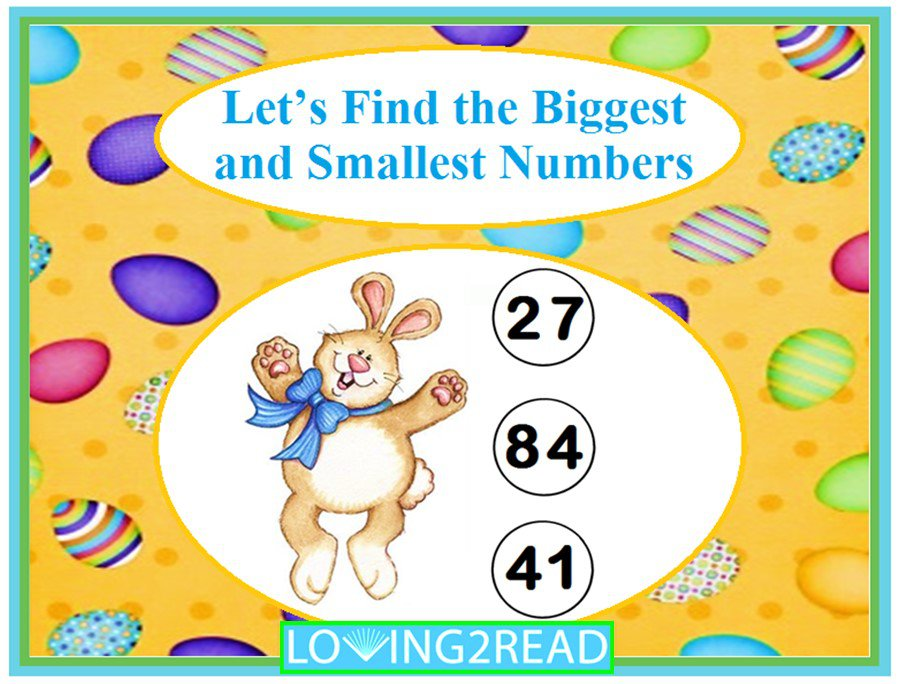 Let's Find the Biggest and Smallest Numbers