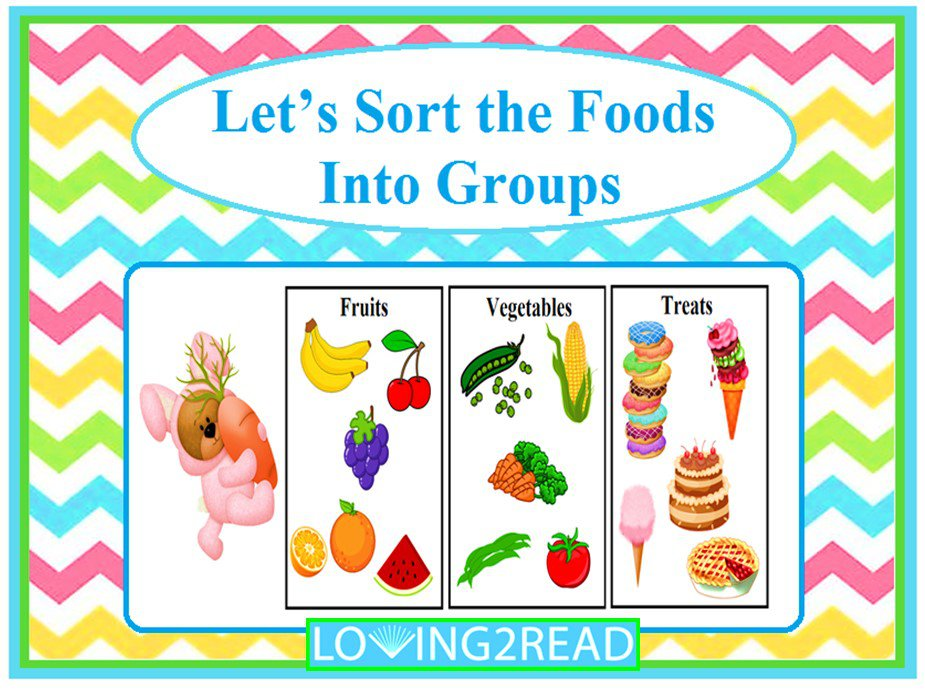 Let's Sort the Foods Into Groups