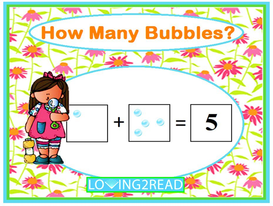 How Many Bubbles?