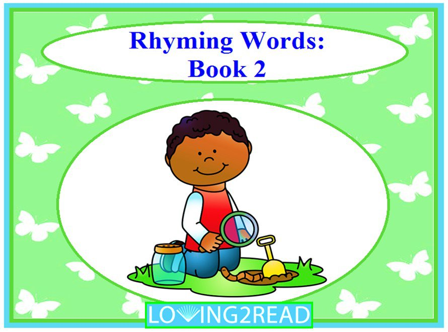 Rhyming Words: Book 2