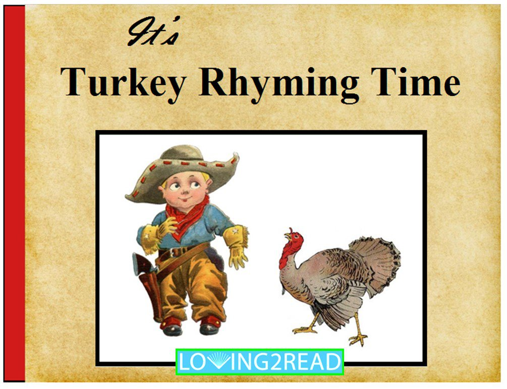 It's Turkey Rhyming Time