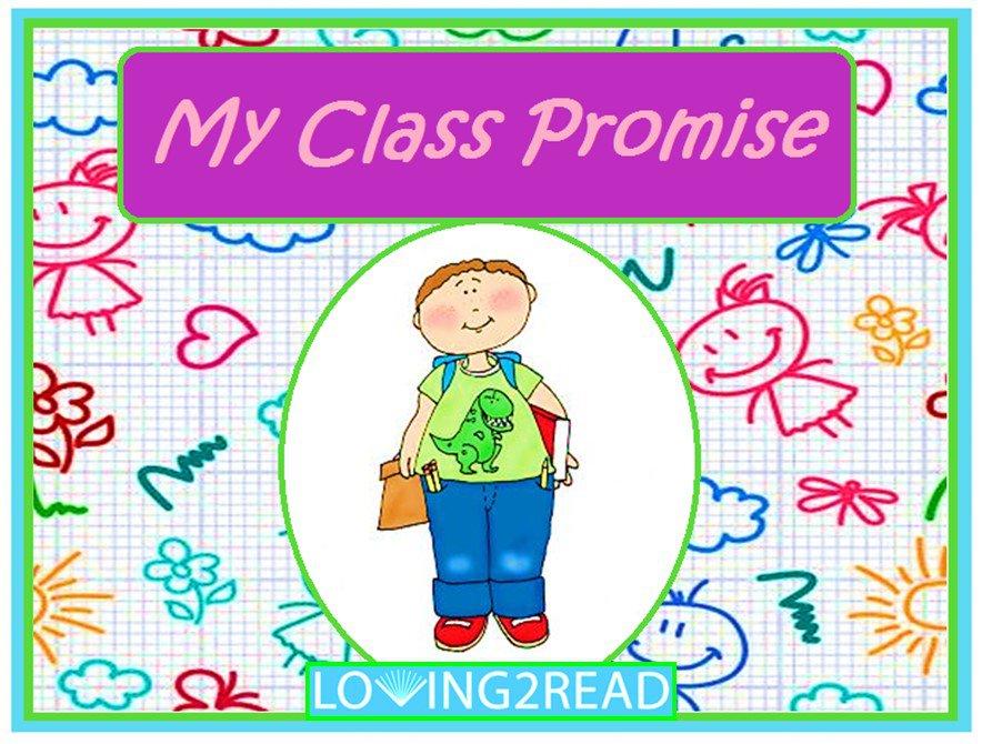 My Class Promise