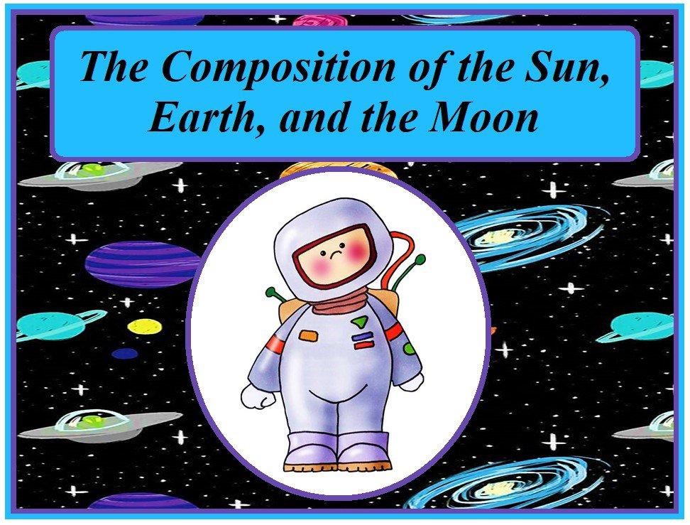 The Composition of the Sun, Earth, and the Moon