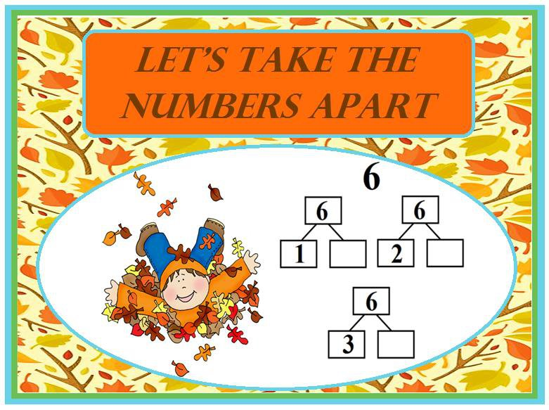 Let's Take the Numbers Apart