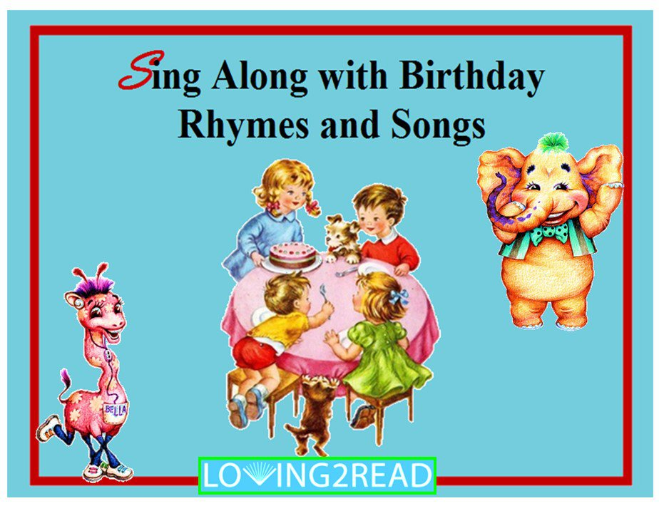Sing Along with Birthday Rhymes and Songs