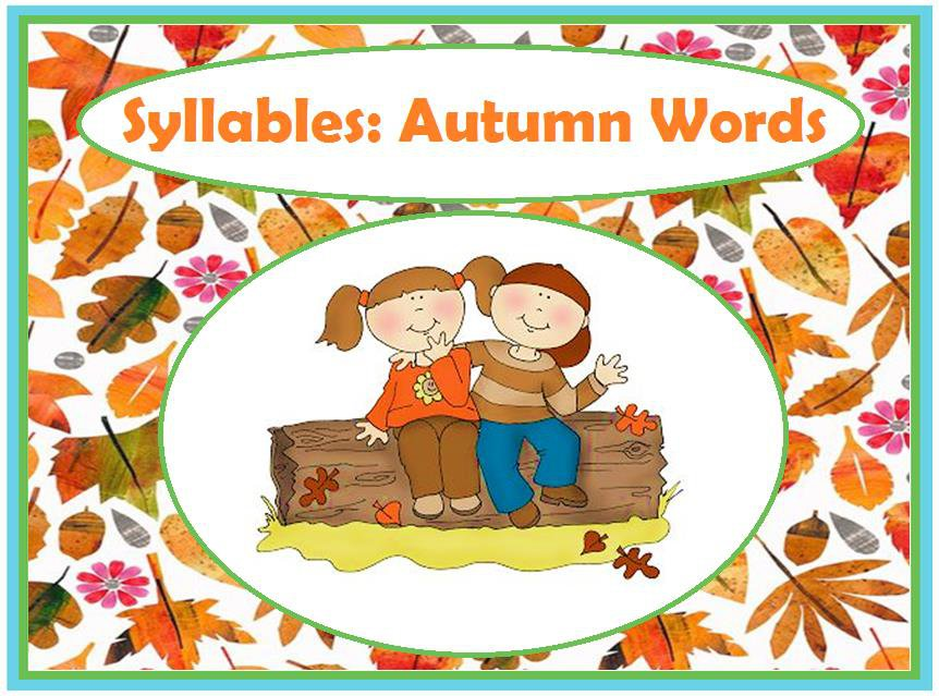 Syllables: Autumn Words