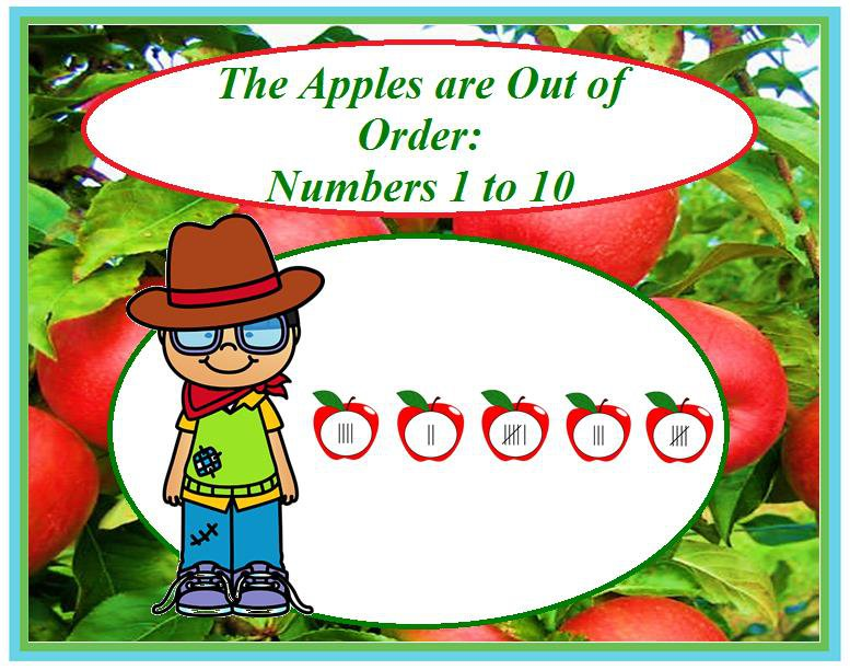 The Apples are Out of Order: Numbers 1 to 10