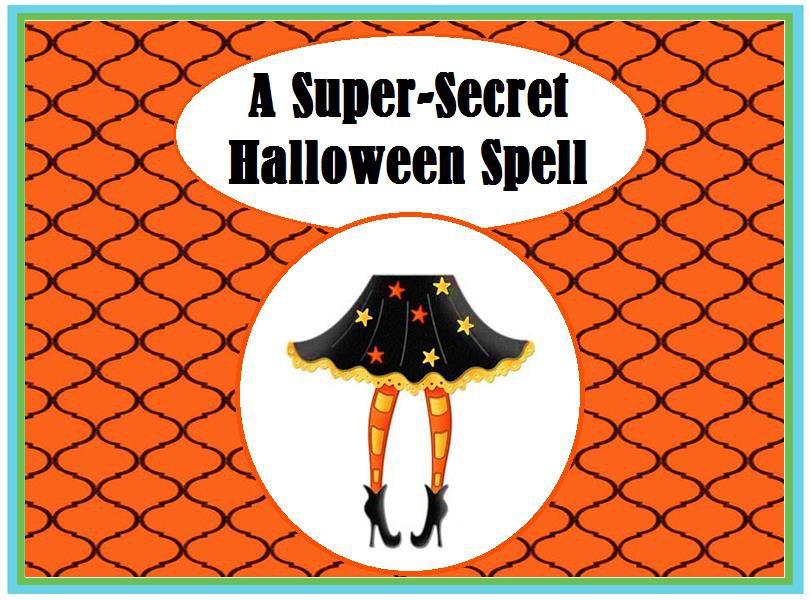 A Super-Secret Halloween Spell