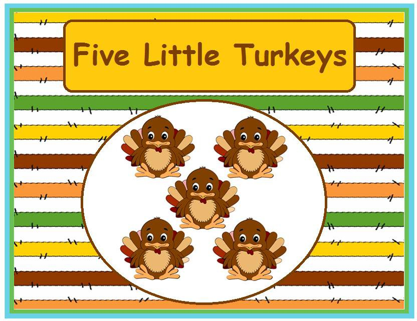 Five Little Turkeys