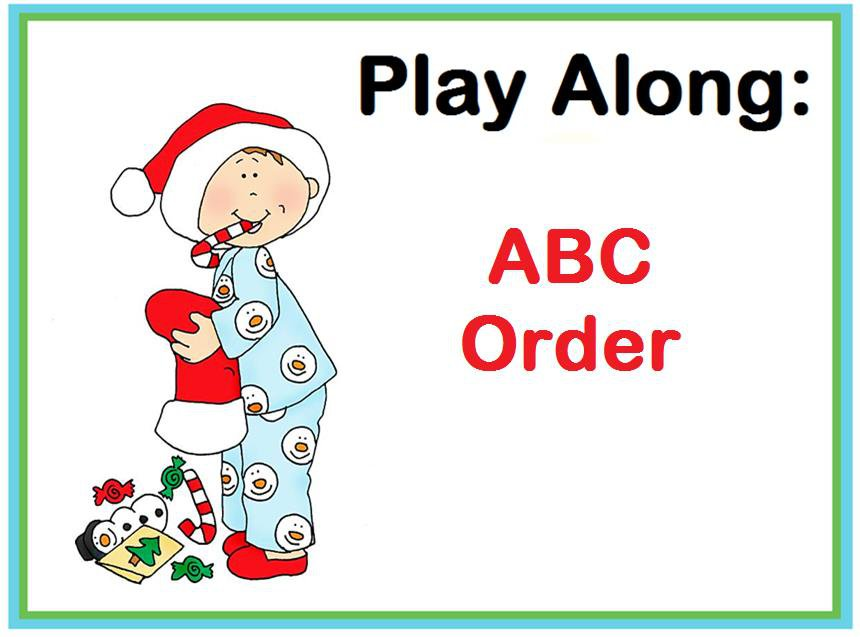 Play Along: ABC Order