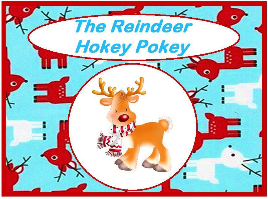 The Reindeer Hokey Pokey