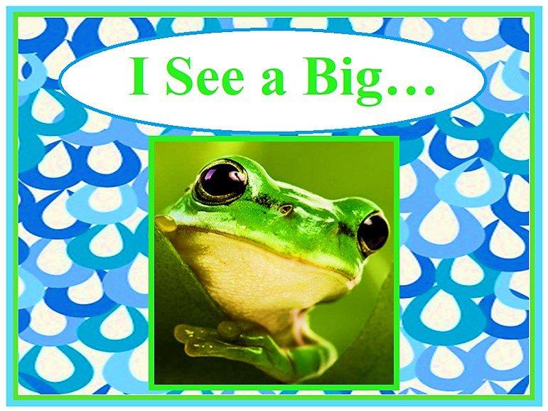 I See a Big…