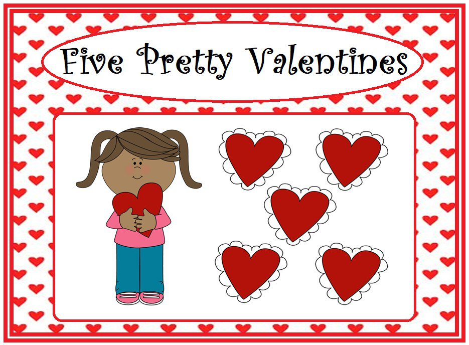 Five Pretty Valentines